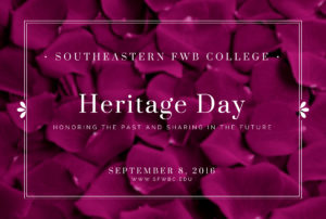 Revised - Heritage Day